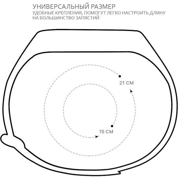 Ремешок ARMORSTANDART Xiaomi Mi Band 4/3 White Flowers (ARM52062) Совместимость XIAOMI Mi Band 4