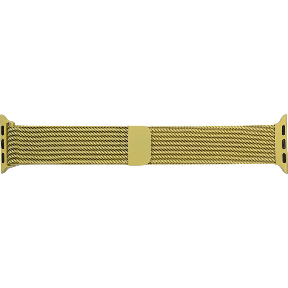 Браслет ARMORSTANDART Milanese Loop Band для Apple Watch All Series 38-40 мм Yellow (ARM55253)