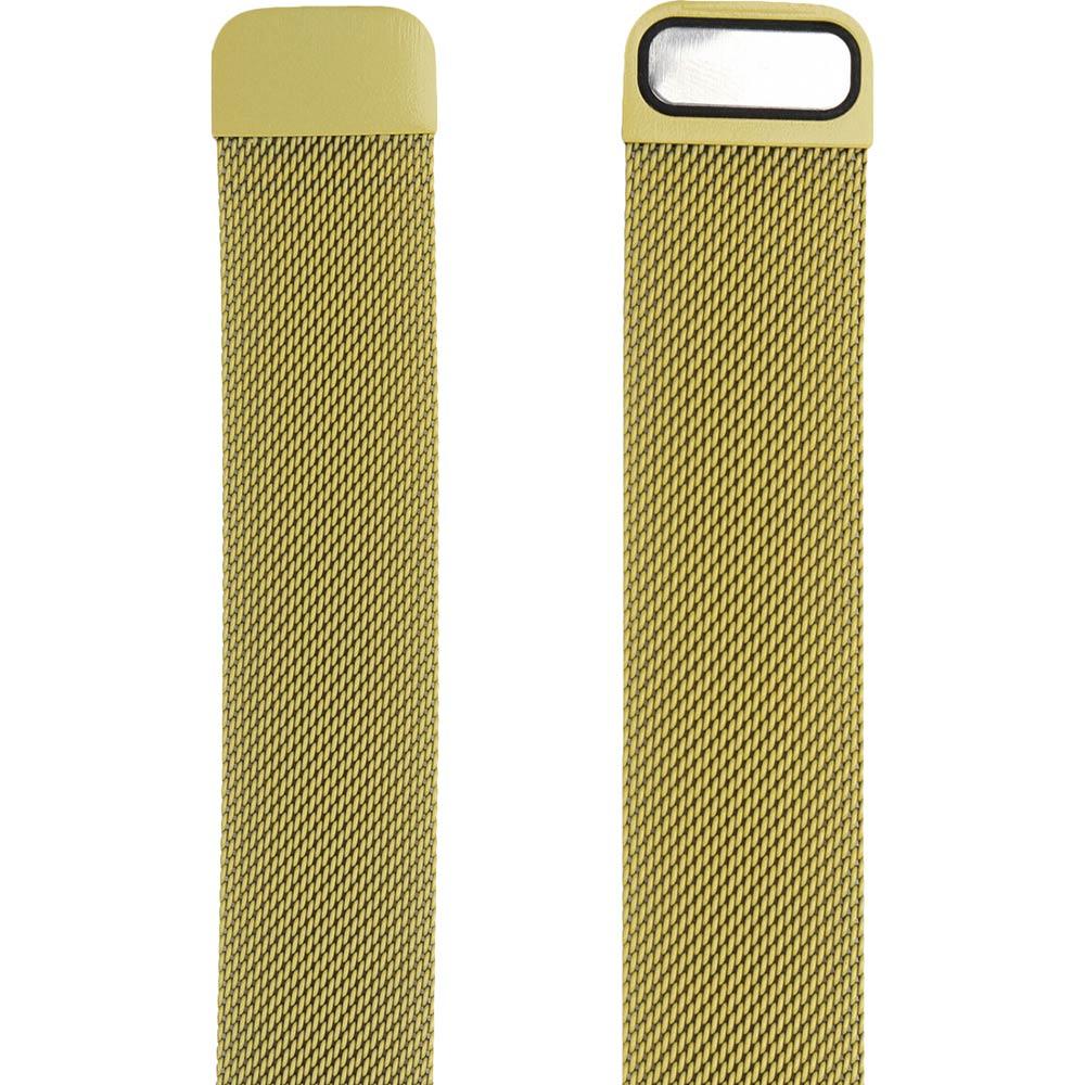 Браслет ARMORSTANDART Milanese Loop Band для Apple Watch All Series 38-40 мм Yellow (ARM55253) Тип браслет