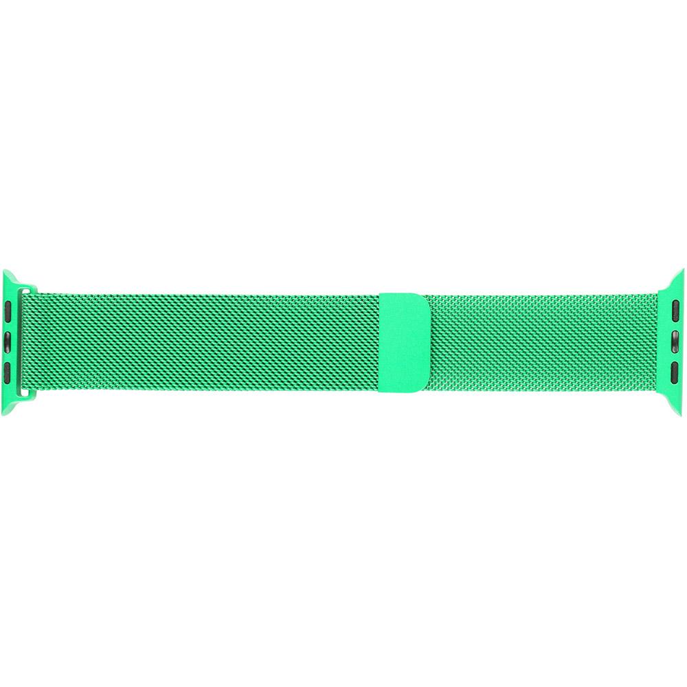 Браслет ARMORSTANDART Milanese Loop Band для Apple Watch All Series 42-44 мм Green (ARM54393)