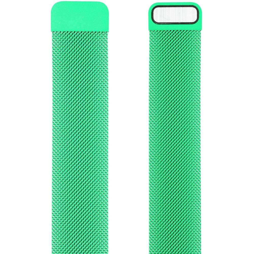 Браслет ARMORSTANDART Milanese Loop Band для Apple Watch All Series 42-44 мм Green (ARM54393) Тип браслет