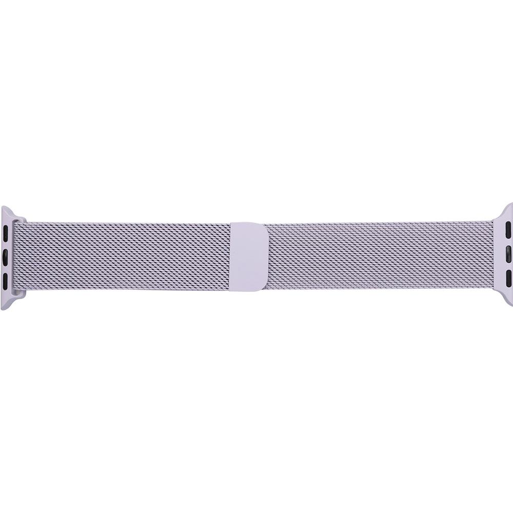 Браслет ARMORSTANDART Milanese Loop Band для Apple Watch All Series 42-44 мм Light Purple (ARM55258)