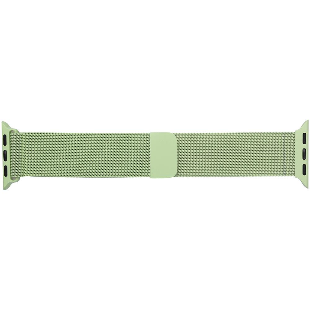 Браслет ARMORSTANDART Milanese Loop Band для Apple Watch All Series 42-44 мм Lime Green (ARM55259)