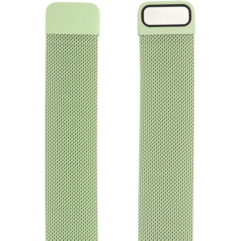 Браслет ARMORSTANDART Milanese Loop Band для Apple Watch All Series 42-44 мм Lime Green (ARM55259) Тип браслет