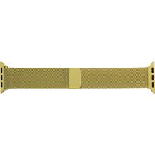 Браслет ARMORSTANDART Milanese Loop Band для Apple Watch All Series 42-44 мм Yellow (ARM55261)