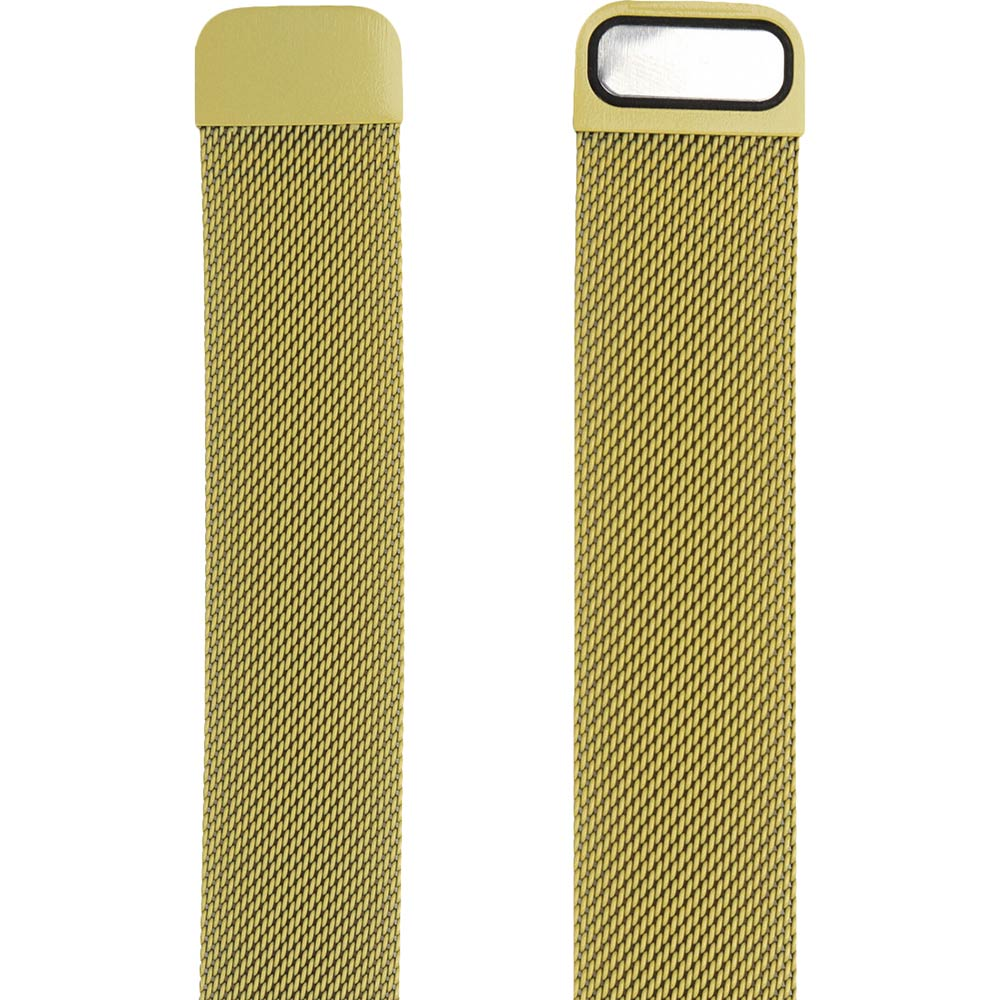 Браслет ARMORSTANDART Milanese Loop Band для Apple Watch All Series 42-44 мм Yellow (ARM55261) Тип браслет