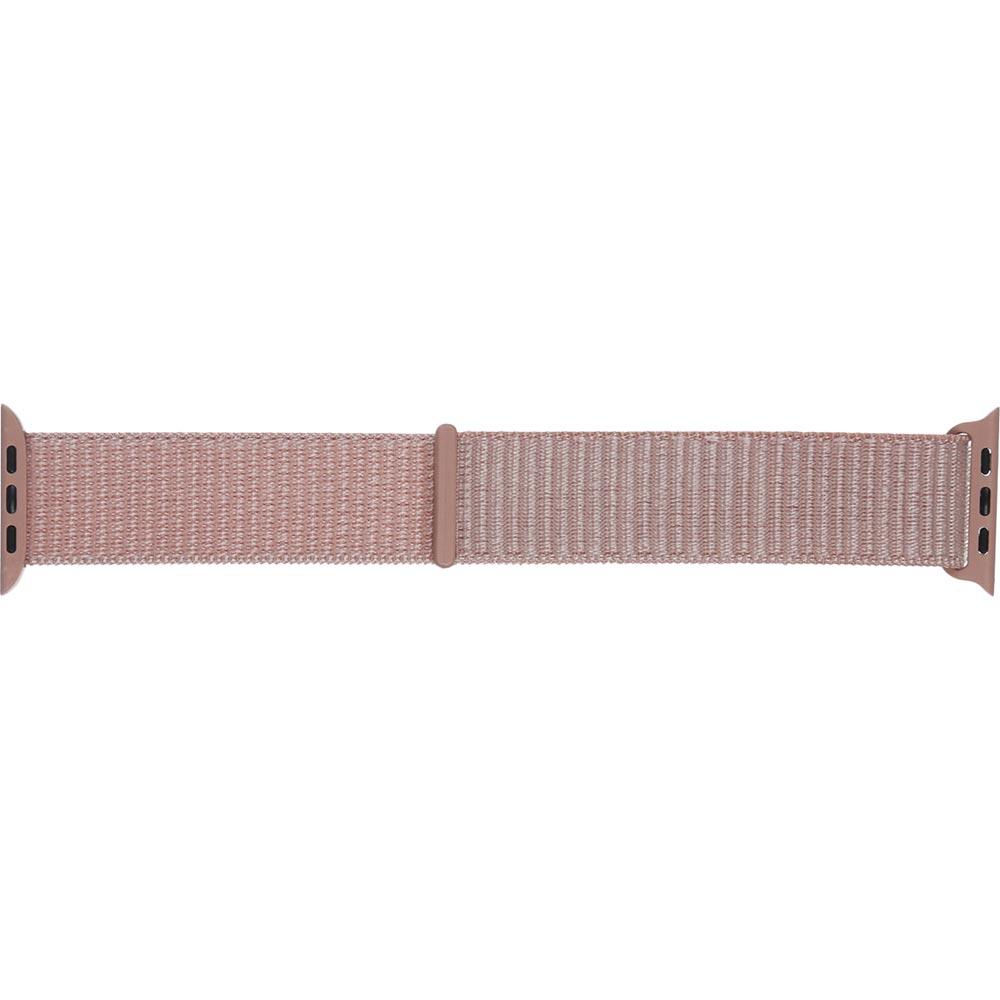 Ремінець Armorstandart Nylon Band для Apple Watch All Series 42/44 mm Pink Sand (ARM56052)