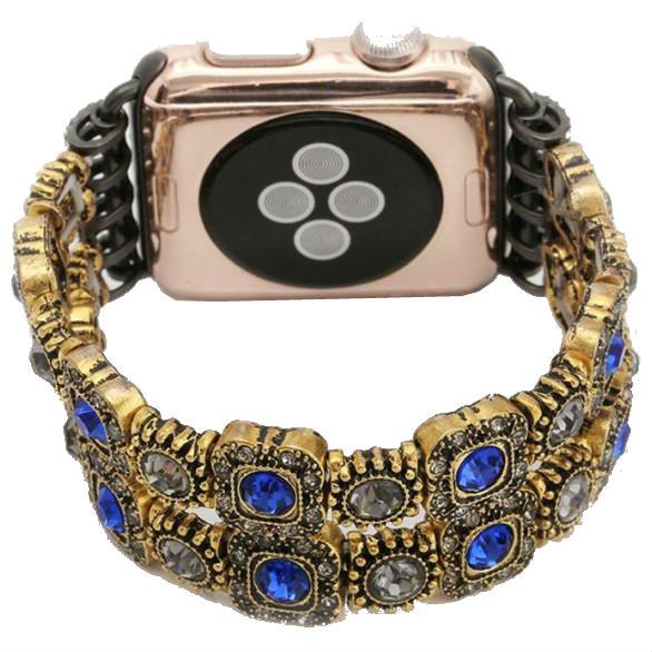 Браслет XOKO Apple Watch 38/40mm XoKo Agate Band LUX Blue (XK-AP-AGBL)