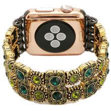 Браслет XOKO Apple Watch 38/40mm XoKo Agate Band LUX Green (XK-AP-AGPNK)