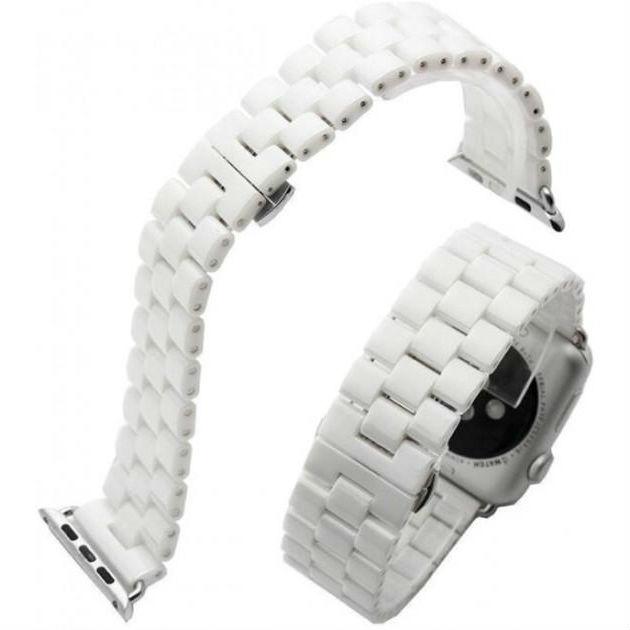Браслет XOKO Apple Watch 38/40mm Steel Style White (XK-AP-STLWT)