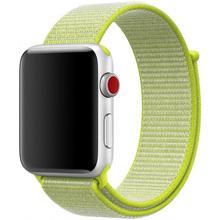 Ремешок XOKO Apple Watch 38/40 Yellow (XK-AW-NB-Yellow38)