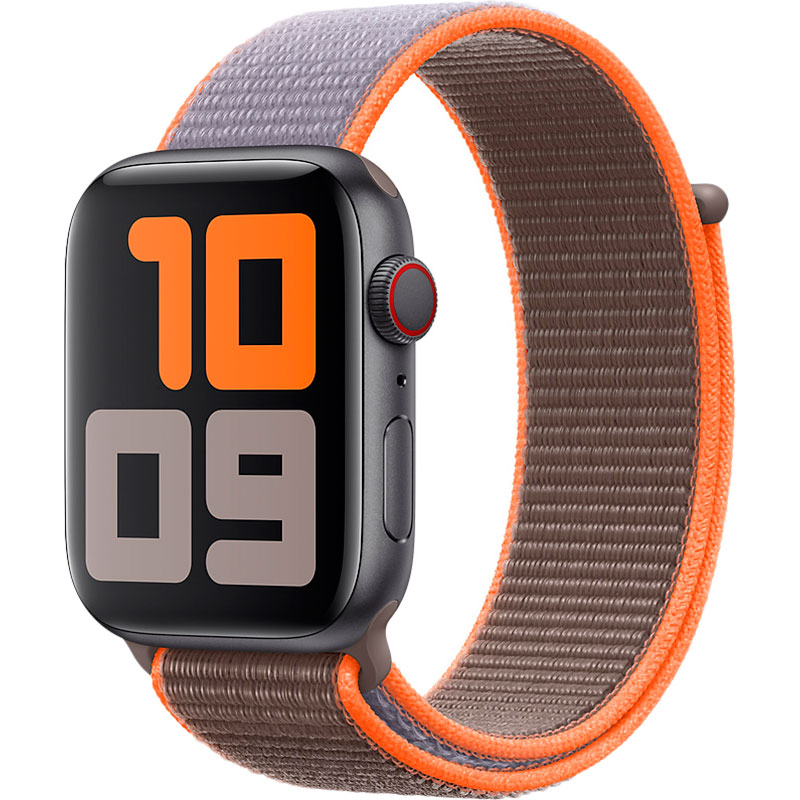 Ремінець APPLE Sport Loop для Apple Watch 44 mm Vitamin C (MXMT2ZM/A) Тип ремінець