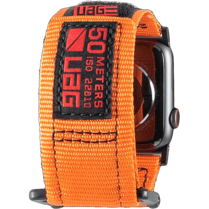 Ремінець UAG Active Strap для Apple Watch 44/42 Orange (19148A114097) Тип ремінець