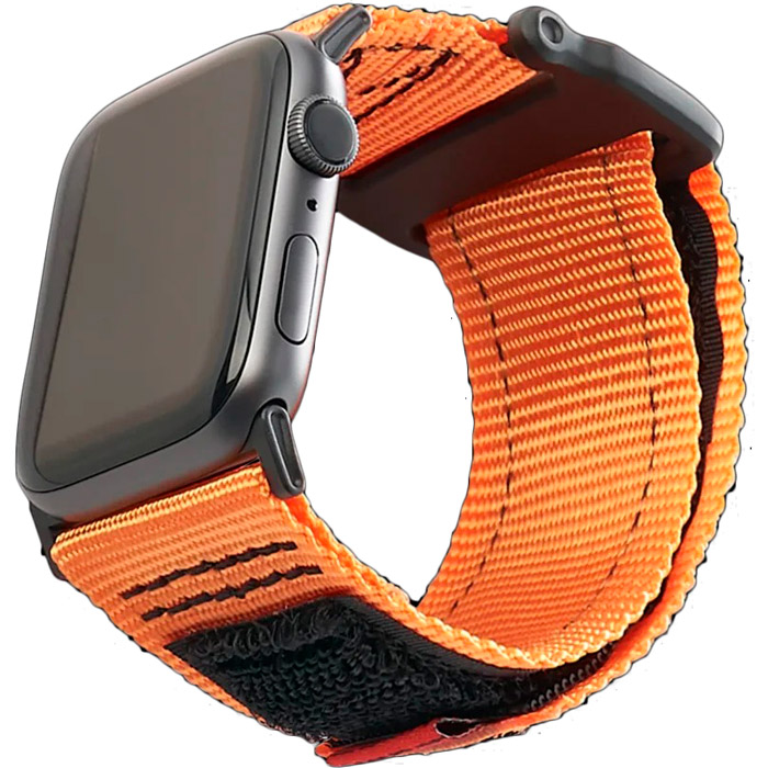 Ремінець UAG Active Strap для Apple Watch 44/42 Orange (19148A114097) Сумісність Apple Watch 44 мм
