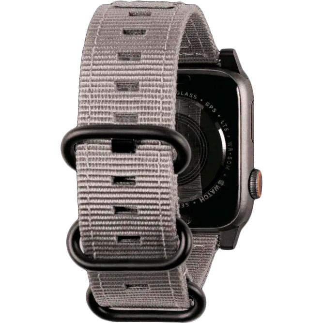 Ремешок UAG Nato Strap для Apple Watch 40/38 Grey (19149C114030) Тип ремешок