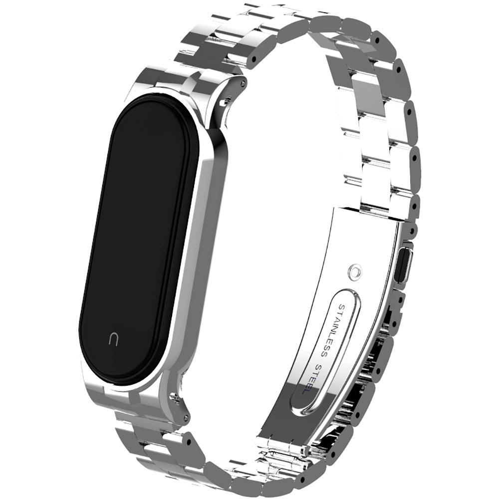 Браслет Armorstandart Metal Band для Xiaomi Mi Band 6/5 Silver (ARM56862) Тип браслет
