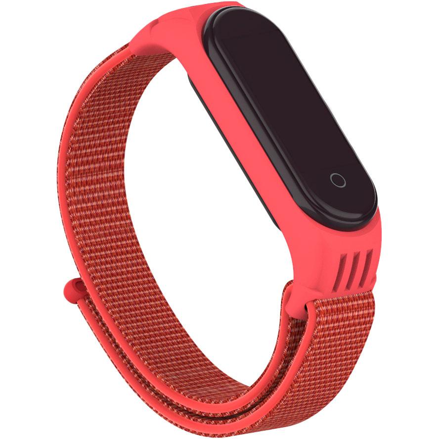 Ремешок rmorstandart Sport Loop для Xiaomi Mi Band 6/5 Red (ARM56871) Тип ремешок