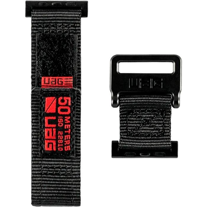 Ремешок UAG Active Strap для Apple Watch 44/42 Black (19148A114040)