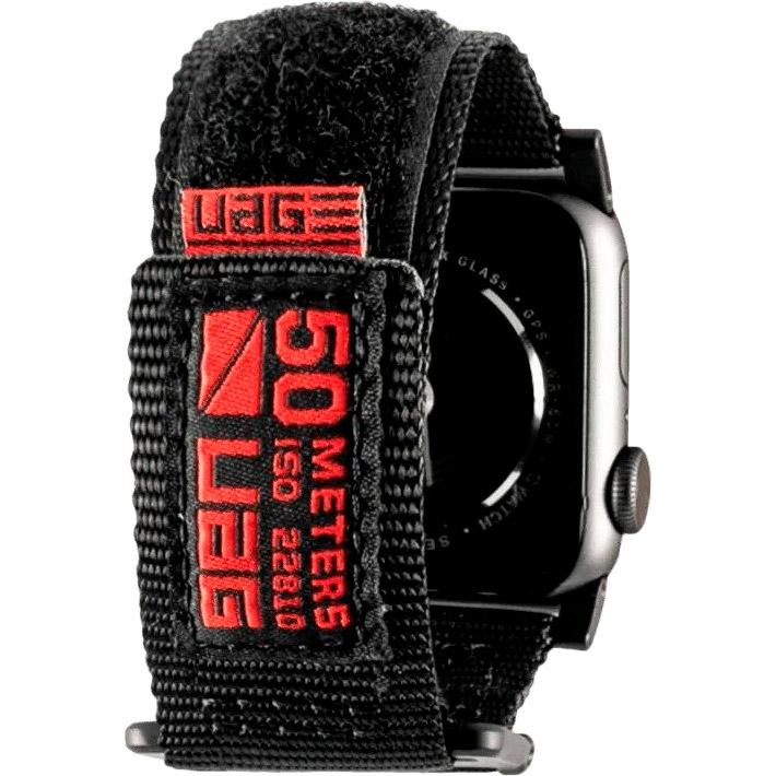 Ремешок UAG Active Strap для Apple Watch 44/42 Black (19148A114040) Тип ремешок