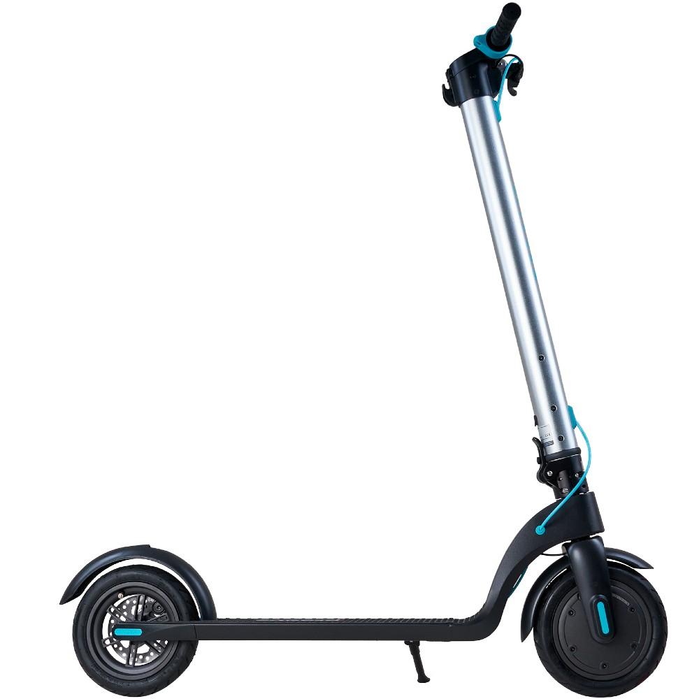 Електросамокат PROOVE X-City Silver/Blue Максимальна швидкість, км/г 25