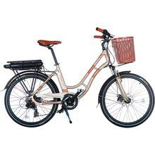 Электровелосипед TRINX E-Bike Sella 2.0 17 Champagne-Gold