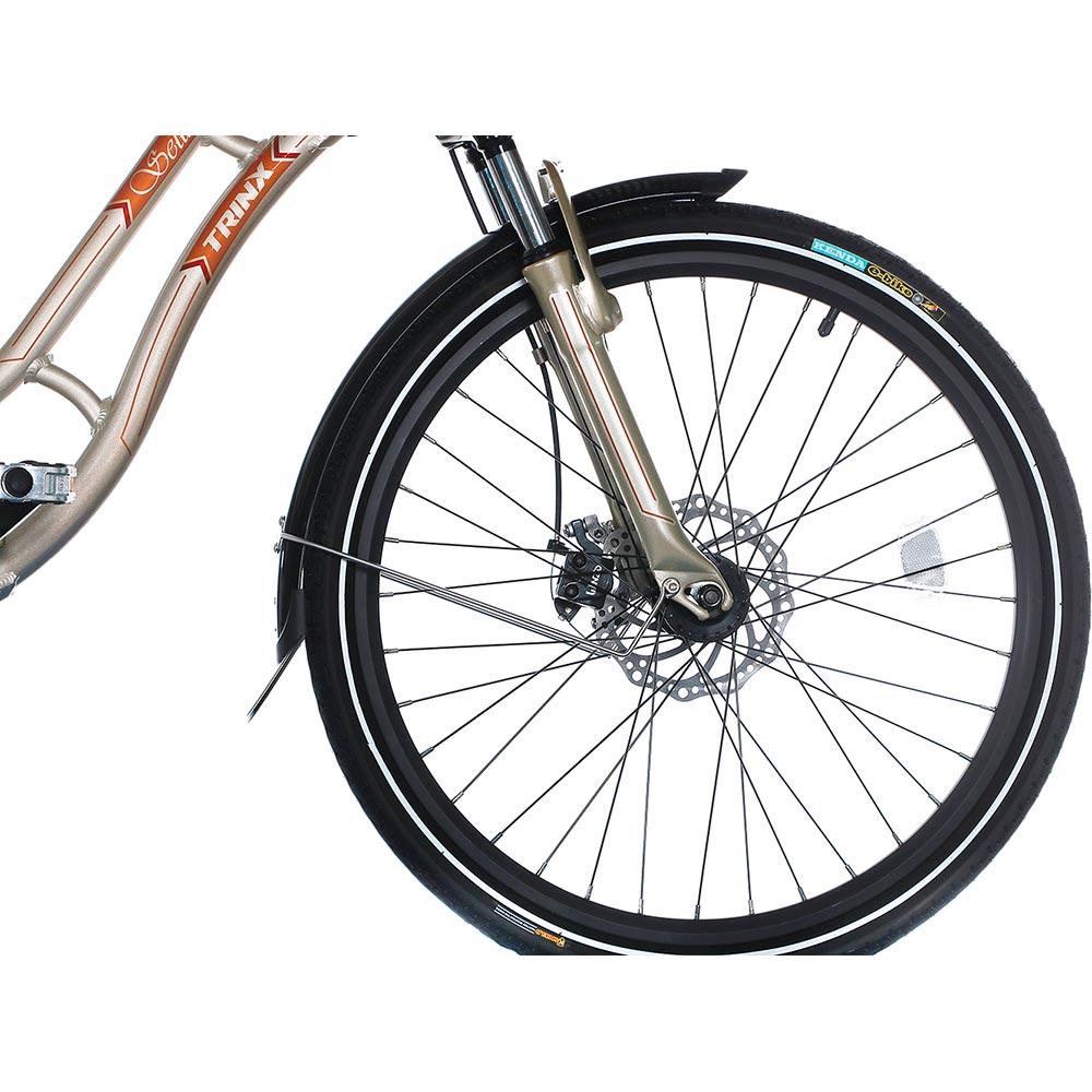 Электровелосипед TRINX E-Bike Sella 2.0 17 Champagne-Gold Максимальная скорость, км/ч 30