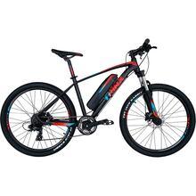Электровелосипед TRINX E-Bike X1E 17 Matt-Black-Red-Blue (X1EMBRB)
