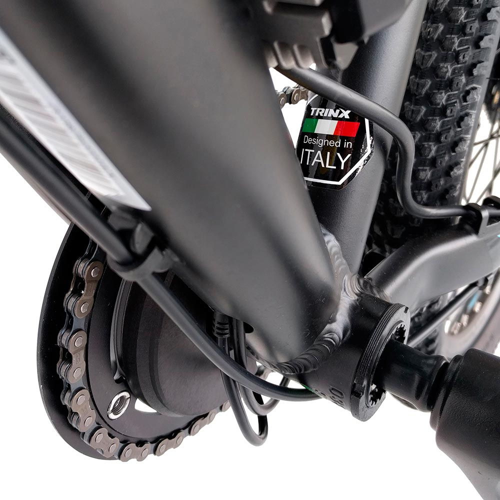 Электровелосипед TRINX E-Bike X1E 17 Matt-Black-Red-Blue (X1EMBRB) Максимальная мощность, Вт 250