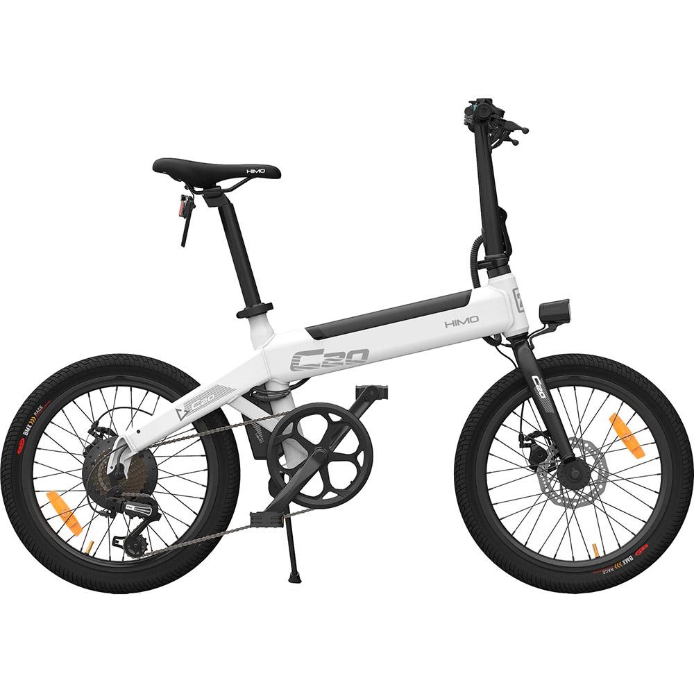 Електровелосипед HIMO C20 White Максимальна швидкість, км/г 25