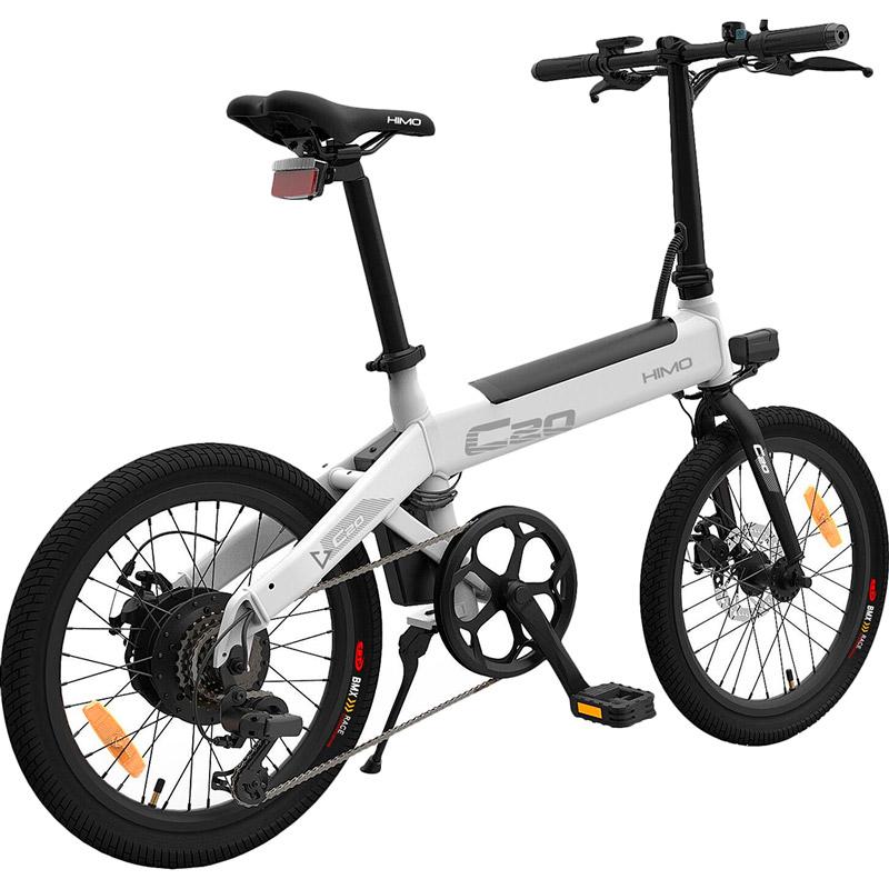 Електровелосипед HIMO C20 White Запас ходу, км 80