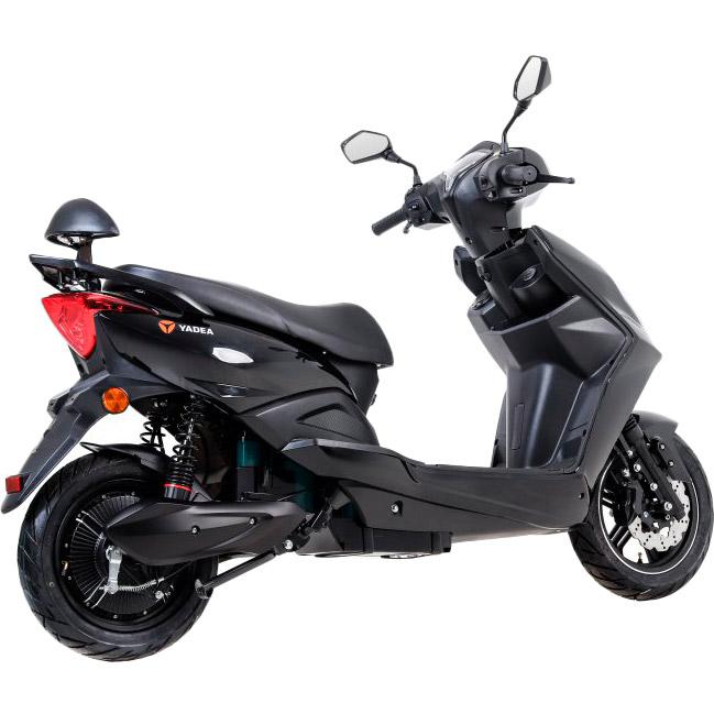 Электроскутер YADEA S-WAY Black Максимальная скорость, км/ч 45