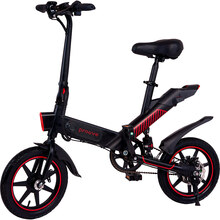 Электровелосипед PROOVE Sportage Black Red (31685)