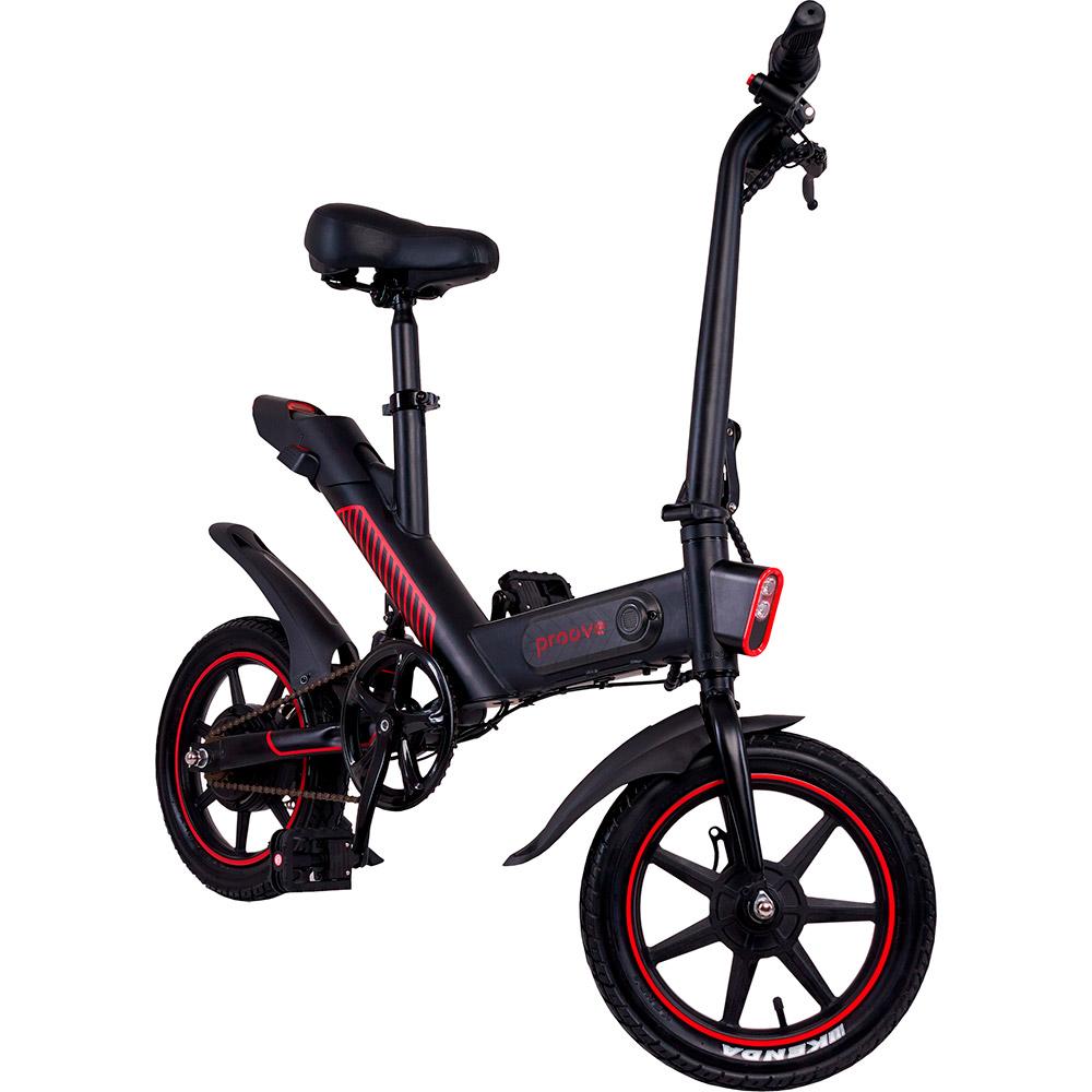 Электровелосипед PROOVE Sportage Black Red (31685) Запас хода, км 40
