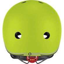 Шолом GLOBBER EVO LIGHTS 45-51 см XXS/XS Green з ліхтариком (506-106)
