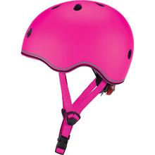 Шолом GLOBBER EVO LIGHTS 45-51 см XXS/XS Pink з ліхтариком (506-110)