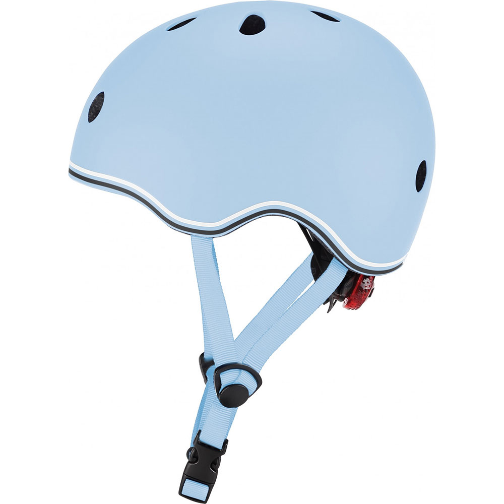 Шлем GLOBBER GO UP LIGHTS XXS/XS Blue с фонариком (506-200)