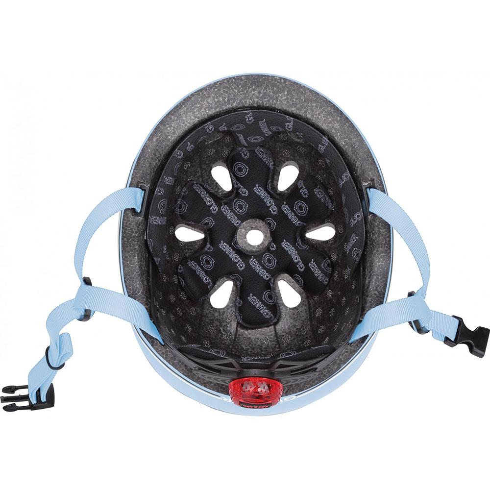 Фото 3 Шлем GLOBBER GO UP LIGHTS XXS/XS Blue с фонариком (506-200)