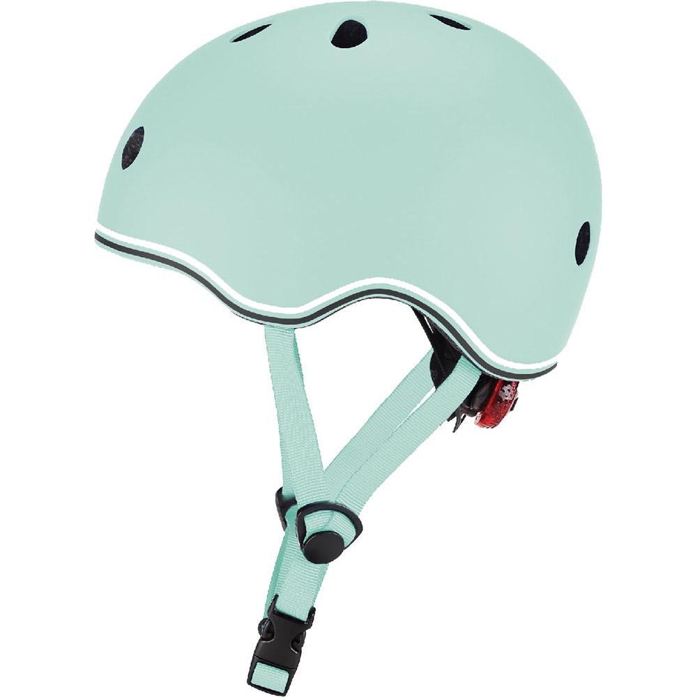 Шлем GLOBBER GO UP LIGHTS XXS/XS Green с фонариком (506-206)