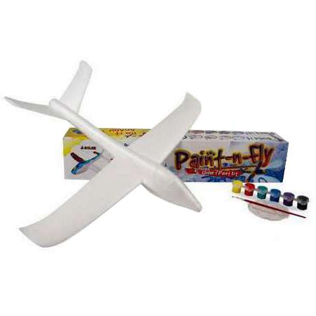 Планер метательный J-Color Eagle 600 мм c комплектом красок (JC-30318) Уровень пользователя начальный