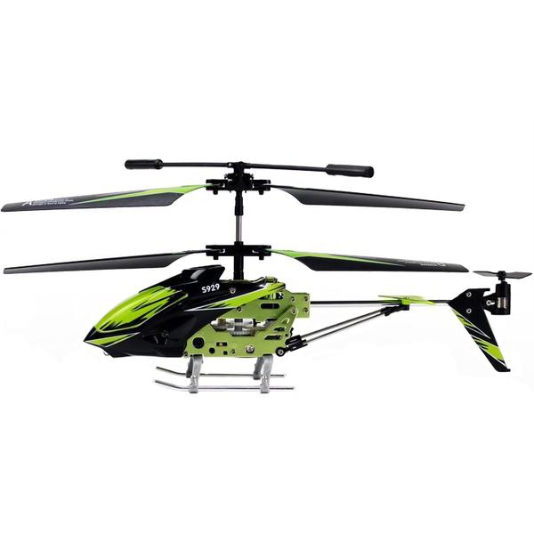 Вертолет WL TOYS 3-к S929 с автопилотом (WL-S929g) Комплектация USB кабель; Пульт управления; Запасной хвостовой пропеллер; Запасные лопасти; Инструкция.