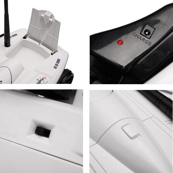Танк-шпион HAPPY COW WiFi I-Tech с камерой (HC-777-325) Емкость аккумулятора 1300