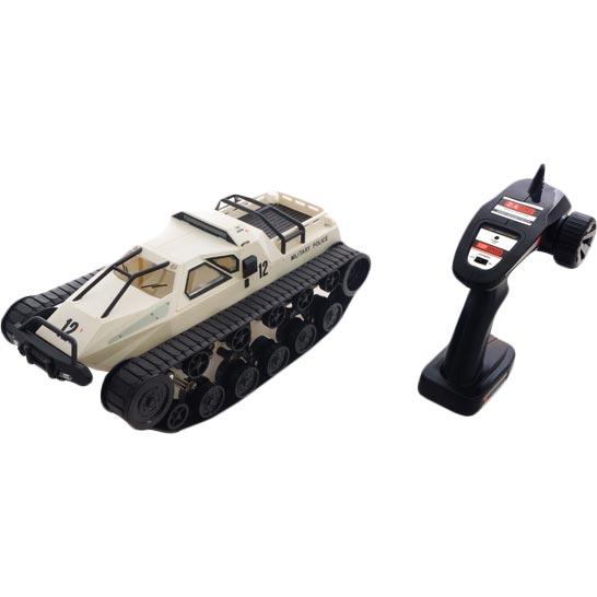 Танк на р/у Pinecone Model Military Police 1:12 белый (SG-1203W) Масштаб 1:12