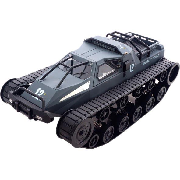 Танк на р/у Pinecone Model Military Police 1:12 серый (SG-1203G)