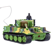 Танк на радиоуправлении со звуком GREAT WALL TOYS 1:72 Tiger (GWT2117-1)