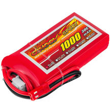 Аккумулятор DINOGY Li-Pol 1000mAh 7.4V 2S 30C JST (DLC-2S1000D-JST)