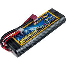 Акумулятор DINOGY Li-Pol 2600mAh 7.4 V 2S 35C T-Plug