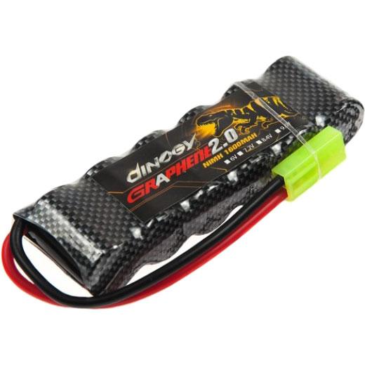 Акумулятор DINOGY NiMH 2/3A 1600mAh 7.2 V Mini Tamiya