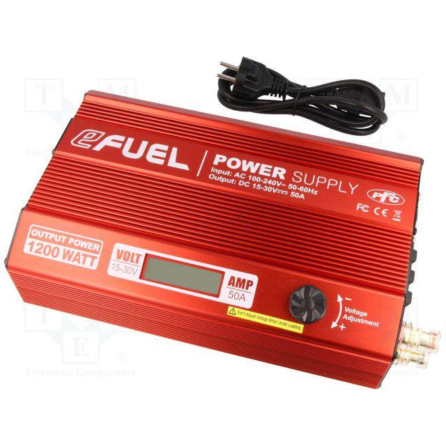 SKYRC eFuel 50A/1200W Power supply 15-30В (SK-200015)