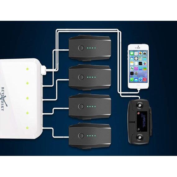 Фото 3 Інтелектуальний зарядний пристрій BEYONDSKY Multi для DJI Mavic Pro (CH980192)