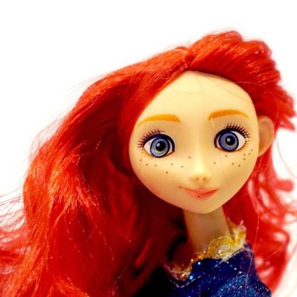 Лялька Beatrice Меріда Хоробра серцем 30 см (BC3126-Merida) Розміри, см 30
